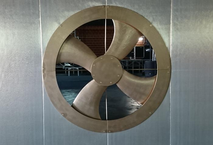 mecanismo manual para ventilador