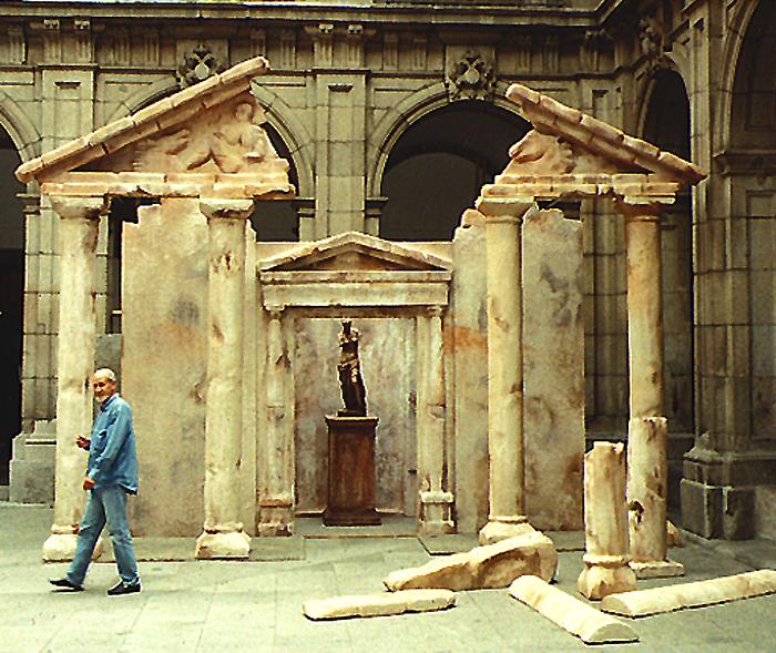 ruina griega / teatro