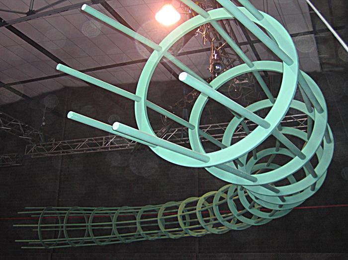 estructura decorativa / tv