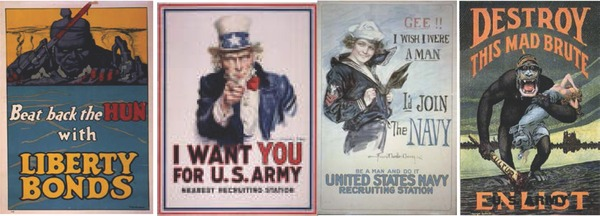 US war propaganda photos