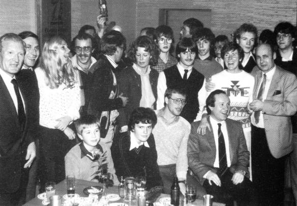 Siegerehrung 1981