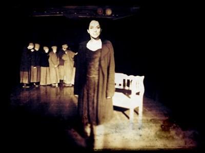Melina Stadtler als Fasia Jansen. Foto (c) Rahner