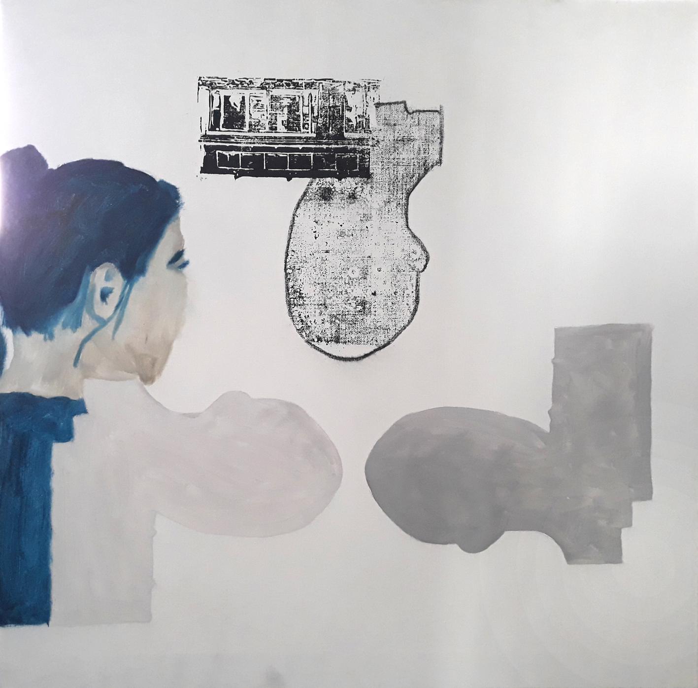 als dritte: Eva Hradil mit Öl