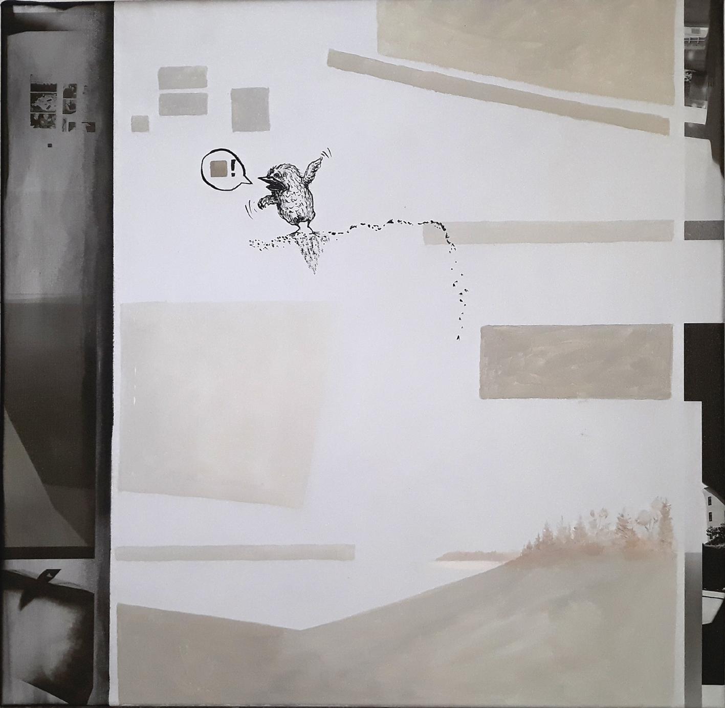 als vierte: Natalia Weiss mit Tusche