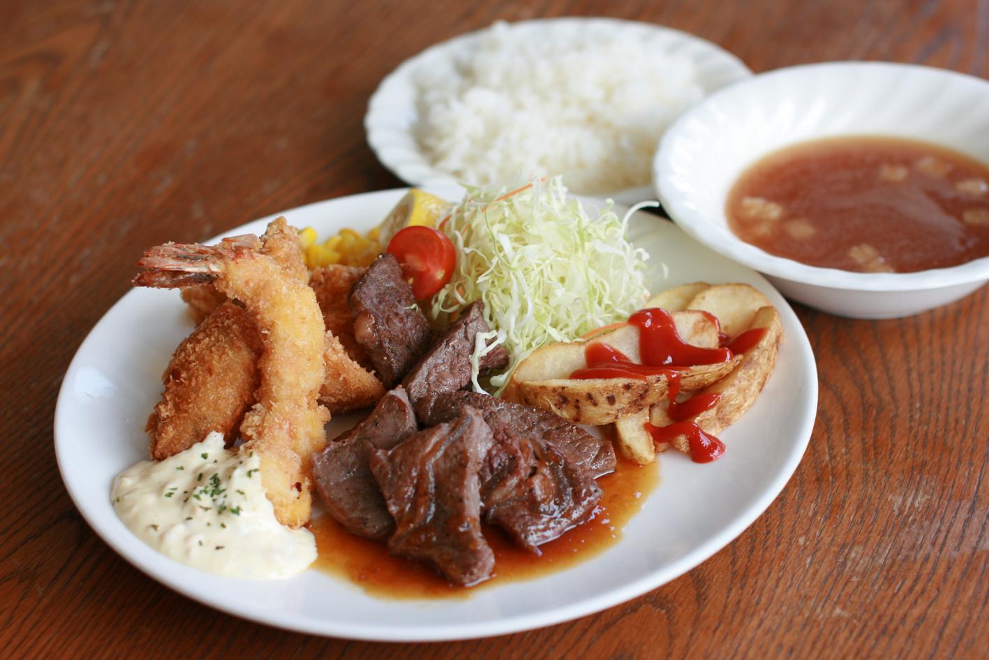 ディナープレート 牛肉 ¥1,390
