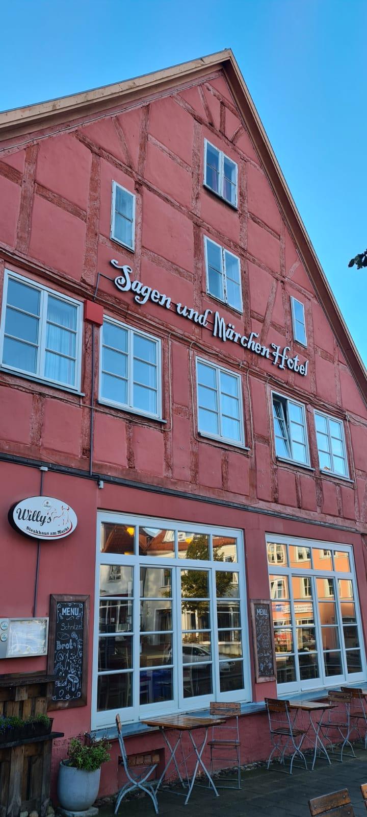 Das Tagungshotel in Bergen auf Rügen.