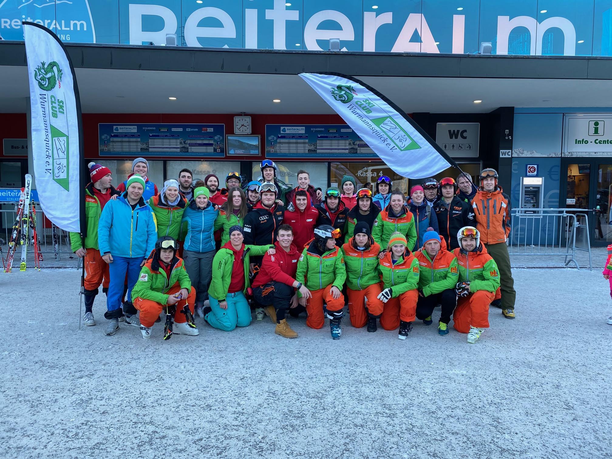 Das Skilehrerteam 2019/2020