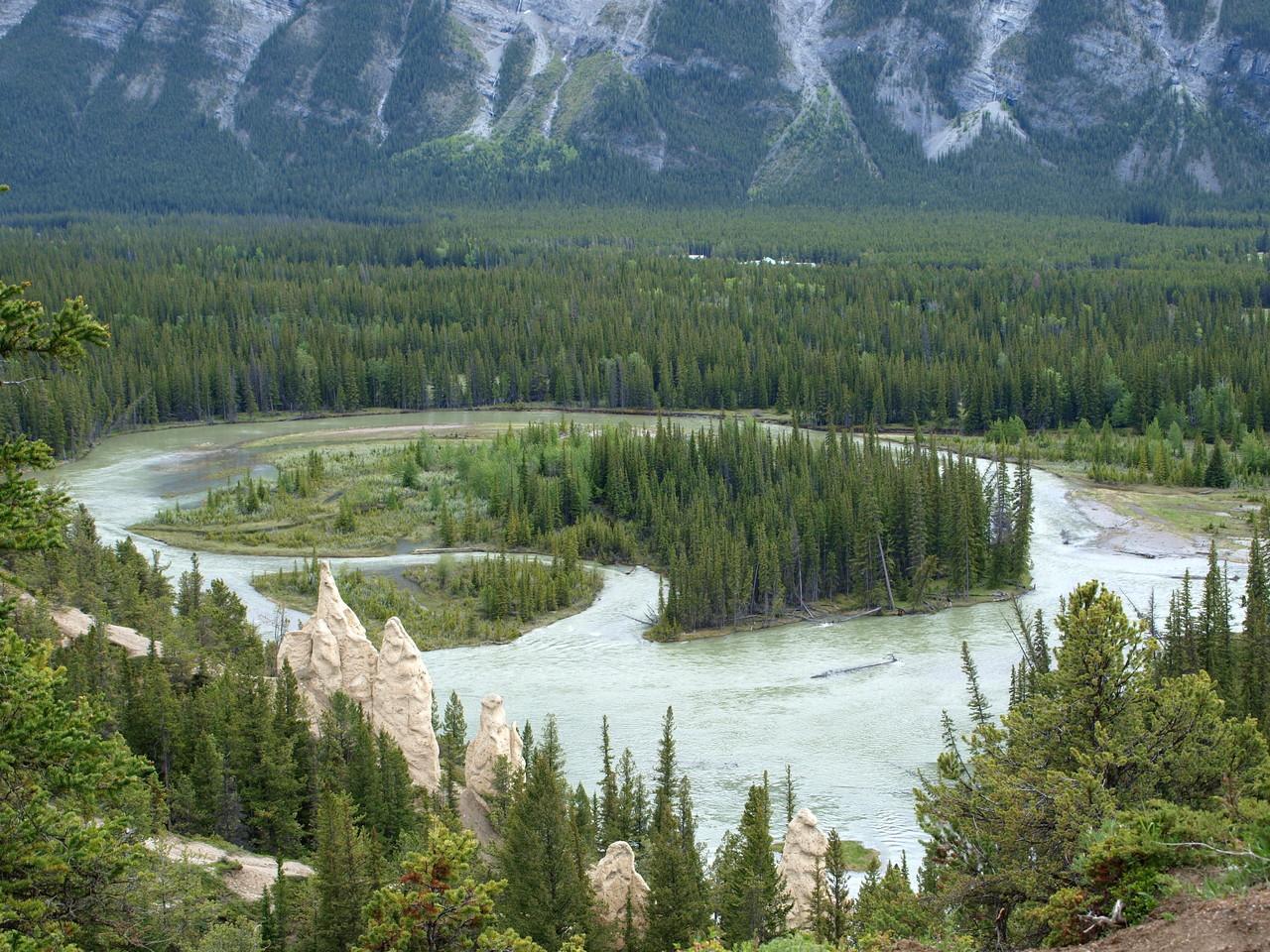 Eine typische Landschaft -wie im Western