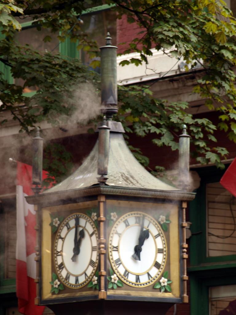Dampfuhr in Gastown