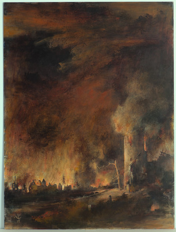 Der Brand: copyright Hinrich Storch