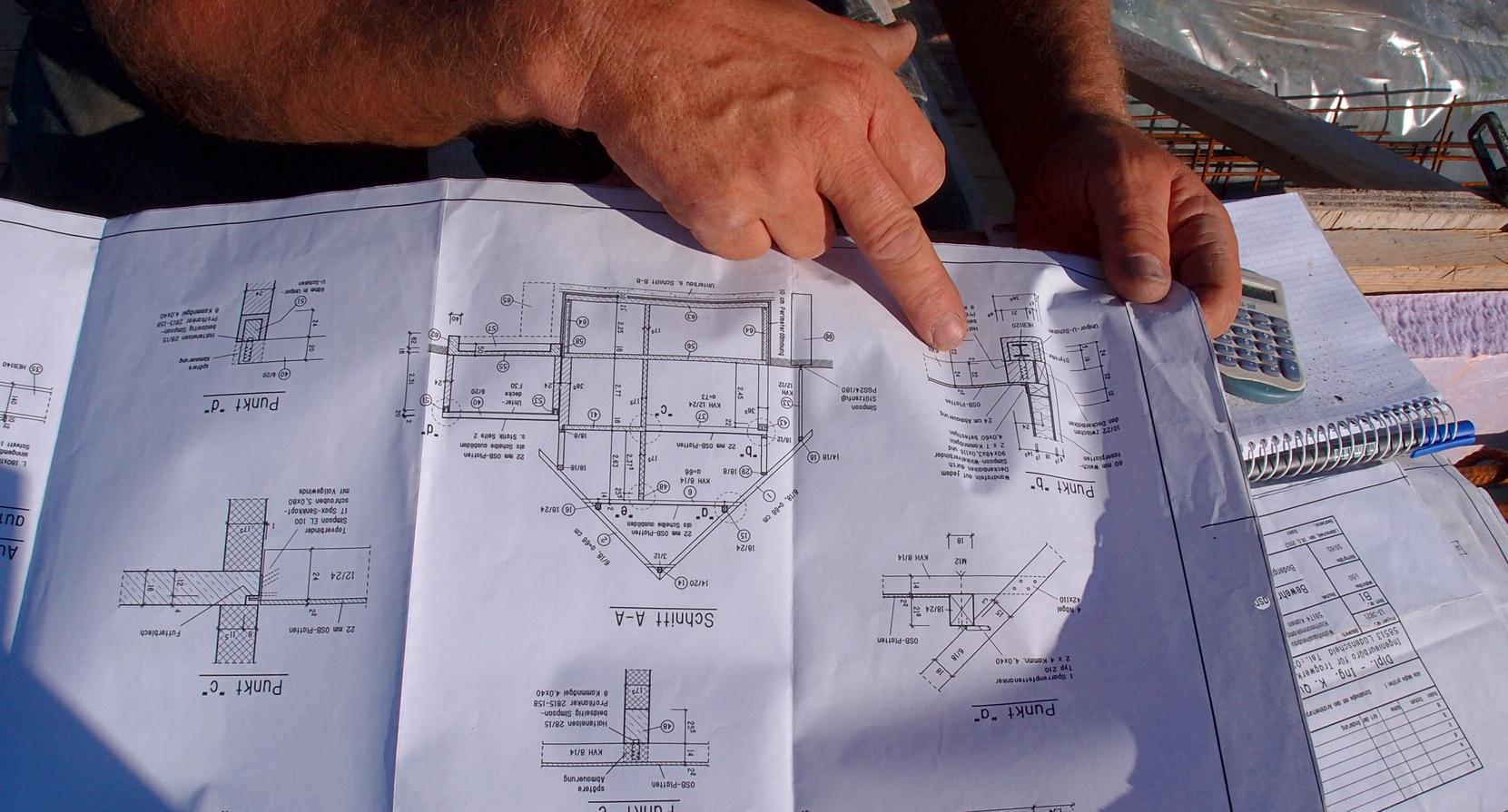 Ausführungszeichnungen für reibungslosen Hausbau