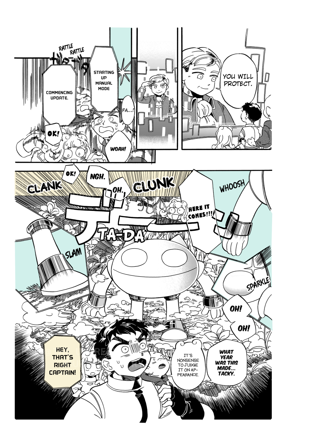 COMIC THE UNPREDICTABLE JOURNEY OF TRY-STAR 41