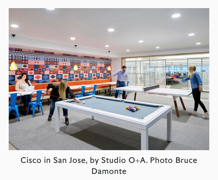 Cisco in San Jose, by Studio O+A. Foto von Bruce Damonte/ Google