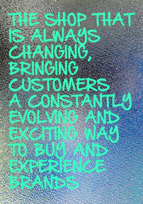 Styling  und Visual Merchandising als Schlüssel zum Erfolg.  Mit wechselnden Emotionen und Attraktionen bleibt eine Marke im Gespräch.