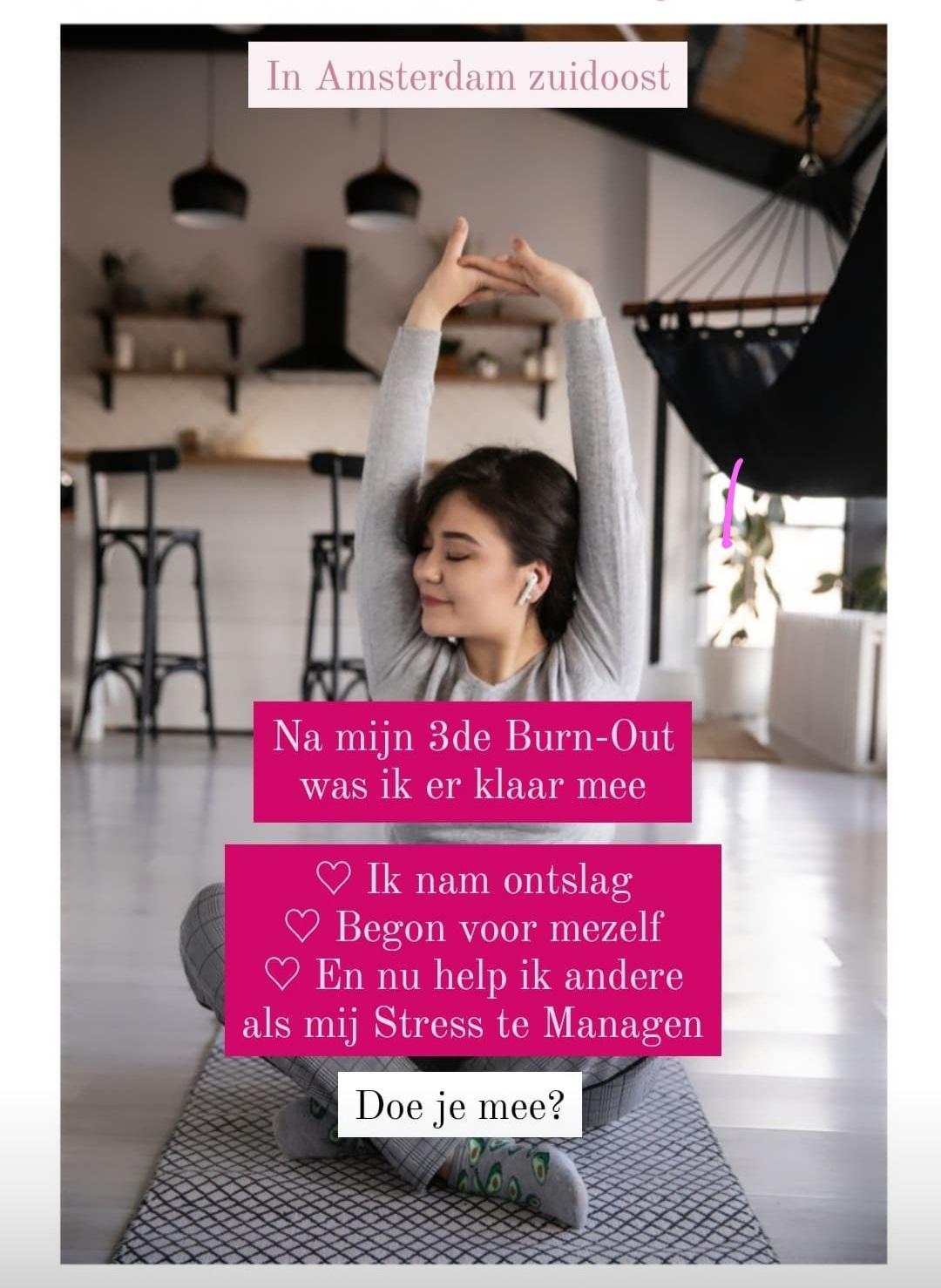 Masterclass Anti Stress Amsterdam zuidoost