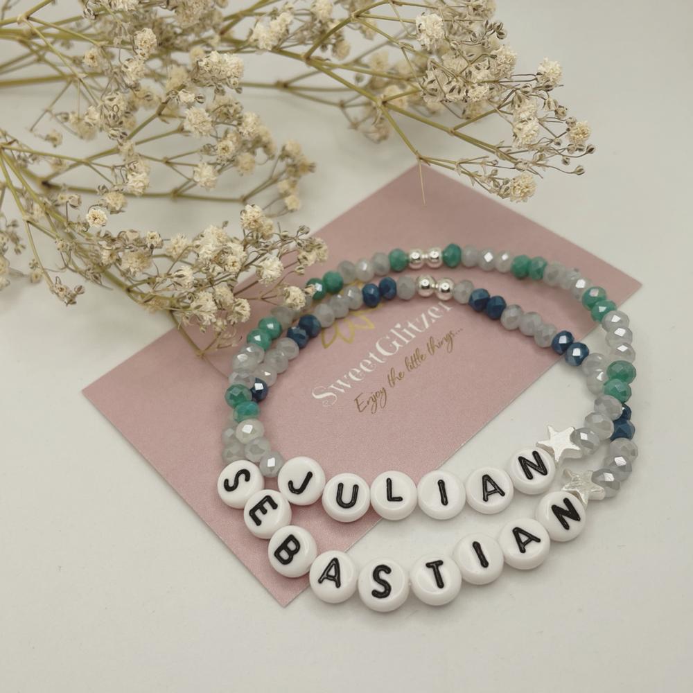 Namensarmband- Das perfekte Geschenk für die Mama zur Geburt EUR 16,90