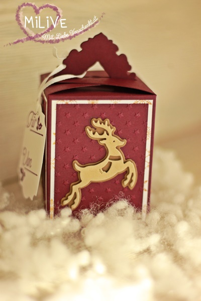 Weihnachtsbox Stampin' Up!