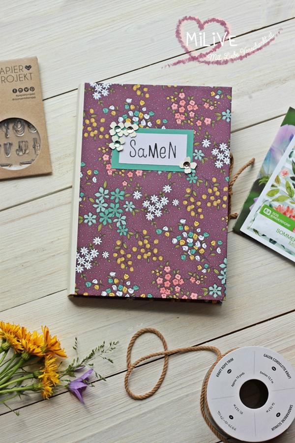 Samentasche Samen Blumensamen DIY Papier Stampin' Up!
