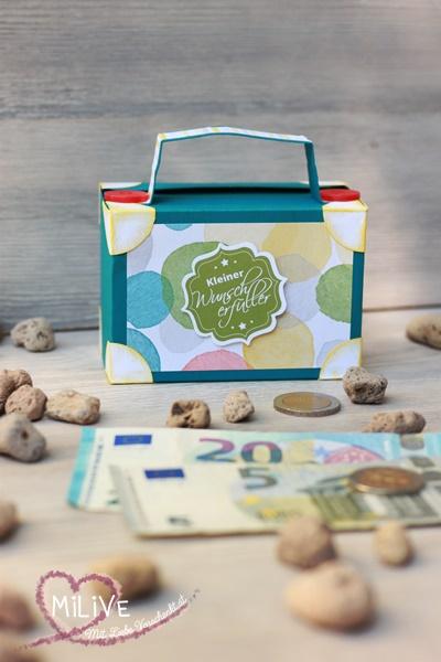 Stampin' Up Geldkoffer Geldgeschenk