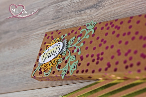 Stampin' Up! Besonderes Designpapier Schokoladenverpackung