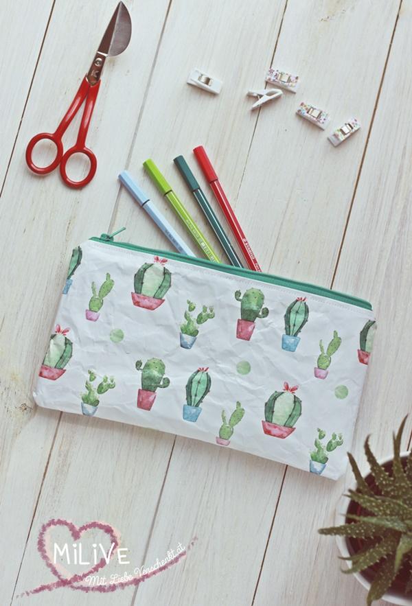 May & Berry Geschenkspapier Federmäppchen nähen