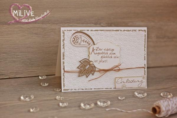 Hochzeit Einladung Paisley