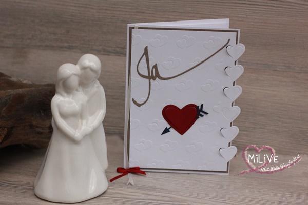 Hochzeitseinladung Stampin' Up!