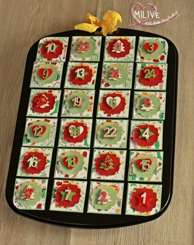 Muffinform Adventkalender
