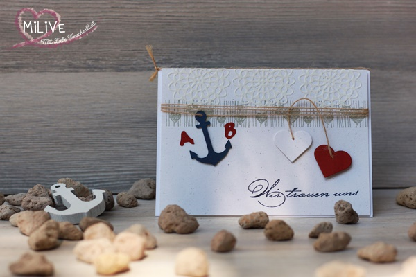 Hochzeit Wedding Maritim Pazzles Stampin' Up