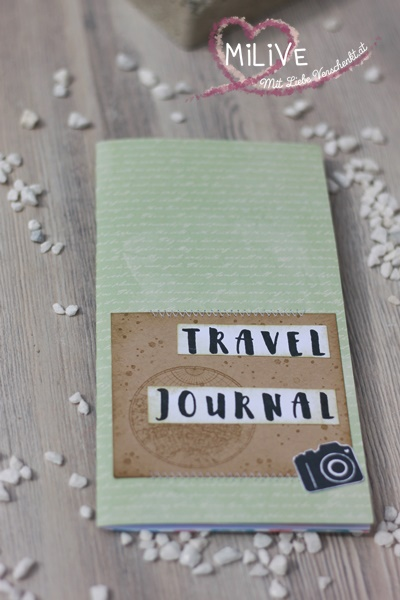 Travel Journal Papierprojekt