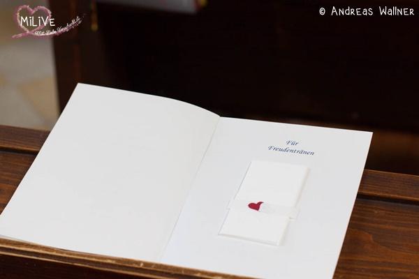Hochzeitspapeterie Hochzeit Kirchenheft schlicht