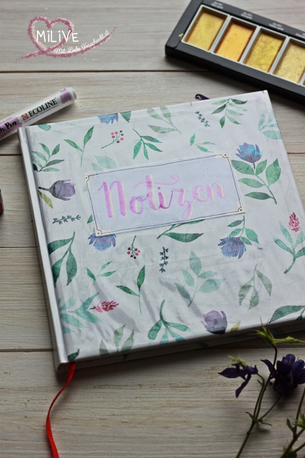 May & Berry Geschenkpapier TOPP Notizheft