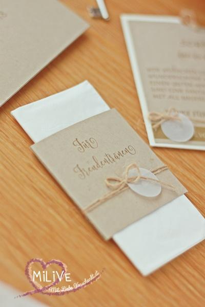 Hochzeit Papeterie Hochzeitseinladung Savanne Freudentränen Give Away