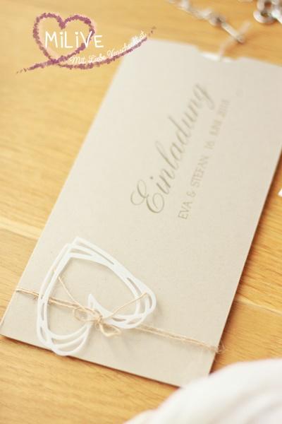 Hochzeit Papeterie Hochzeitseinladung Savanne Rustikal Schlicht Edel