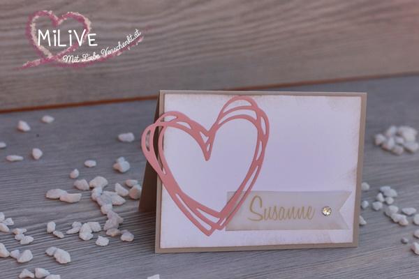 Grüße voller Sonnenschein Hochzeit Namensschild