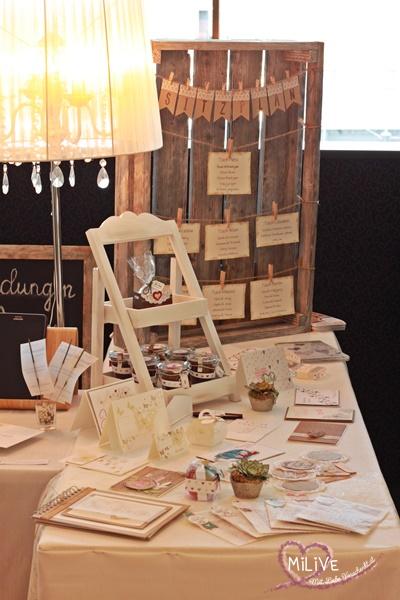 Hochzeitsmesse Klagenfurt Stampin' Up Hochzeitseinladungen Sitzplan