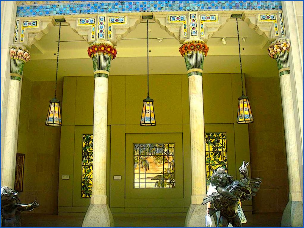 Columnas de Tíffani, Metropolitan Museum