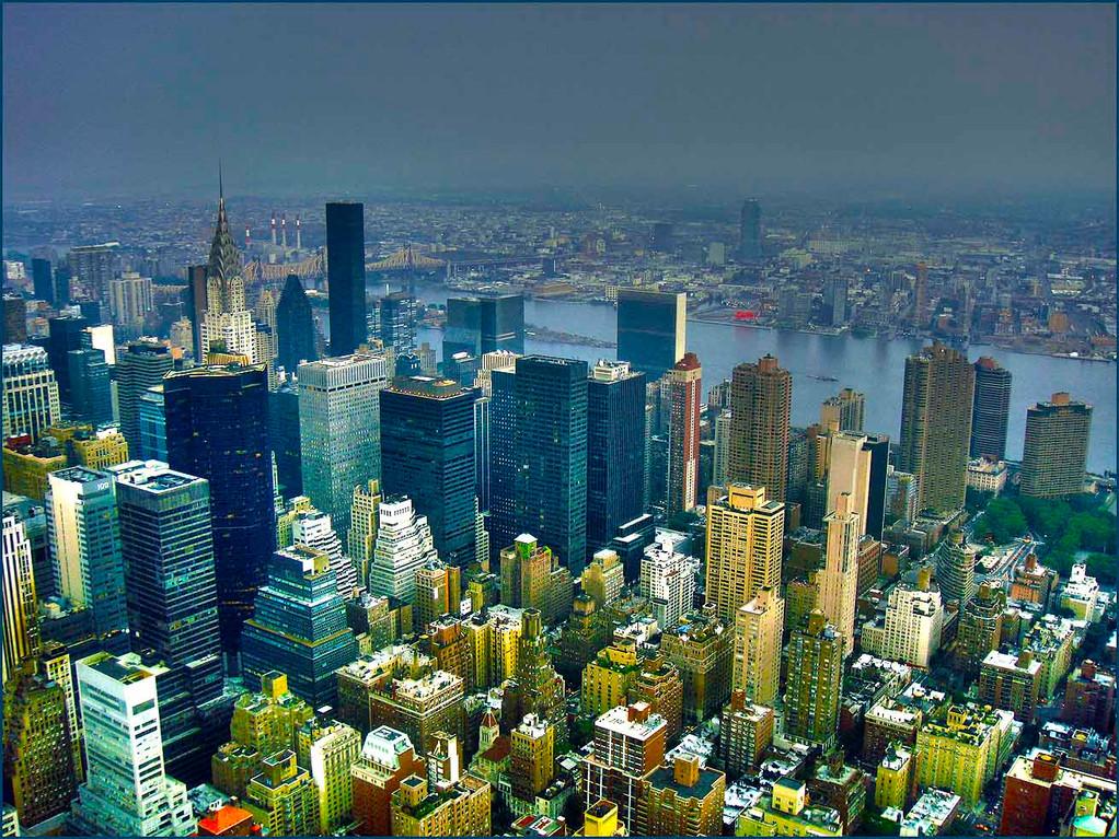 Vista de NY desde el Empire