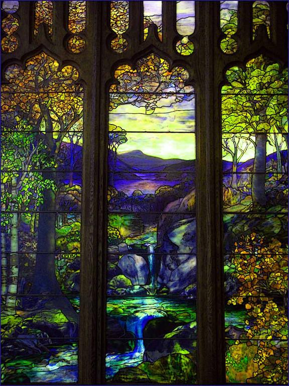 Vidrieras de Tíffani, Metropolitan Museum