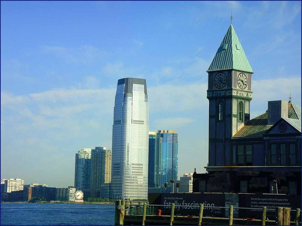 NY desde el río Hudson