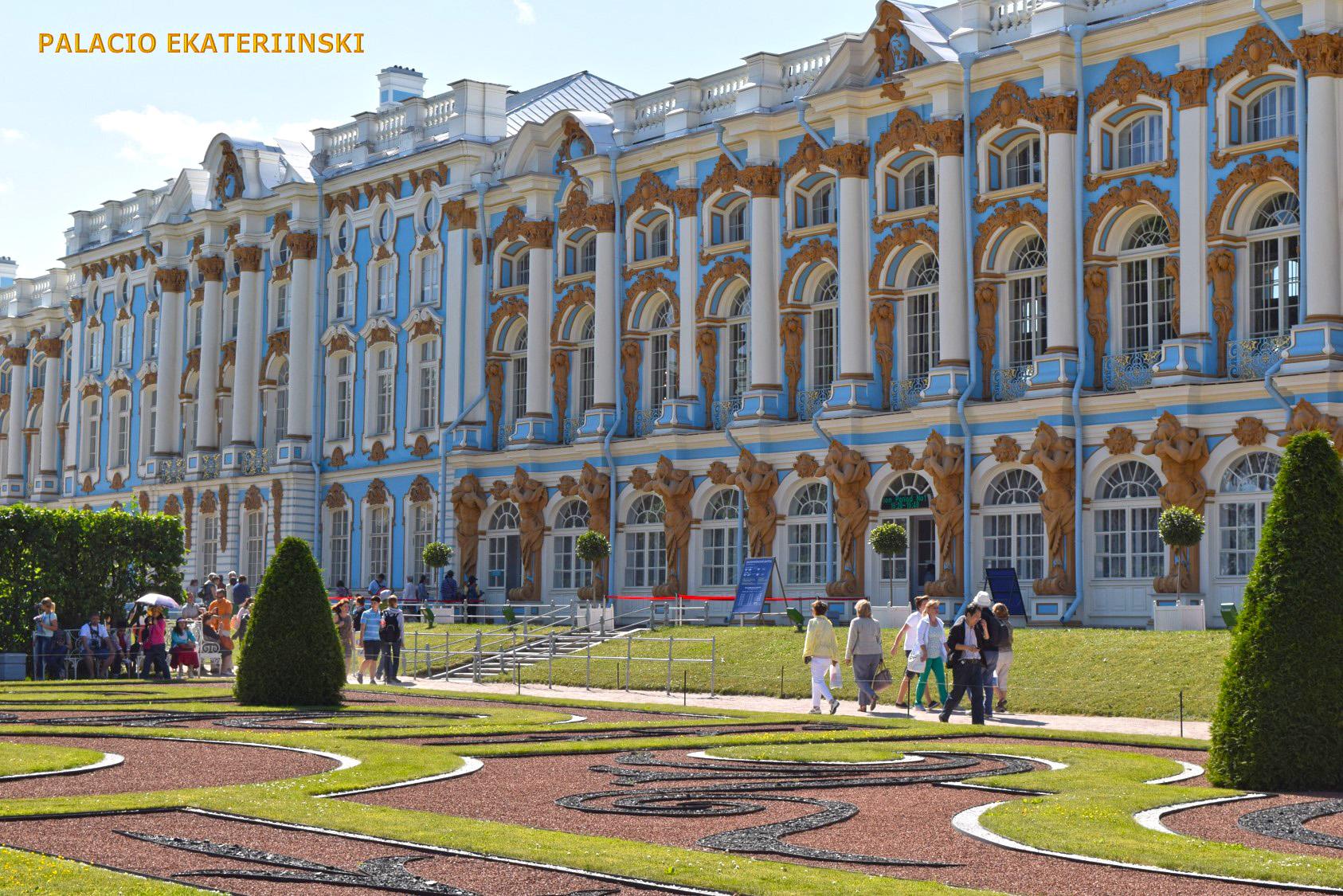 Palacio de Tsárskoye Seló o Palacio de  Catalina