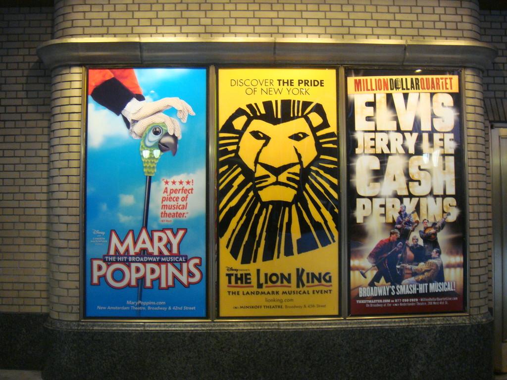 Musicales en NY
