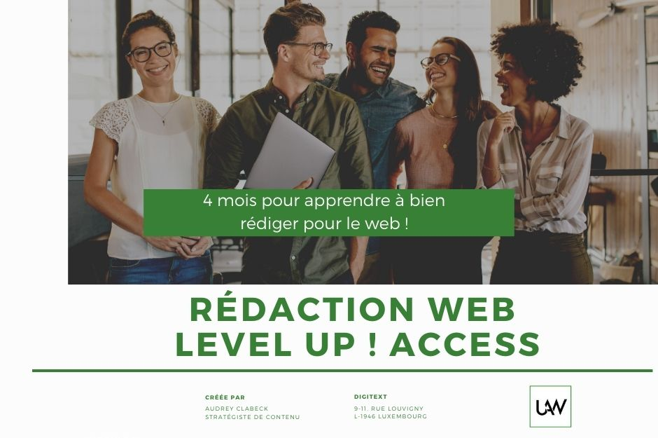 Formation rédaction web level up !