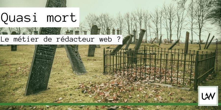 Le métier de rédacteur web est-il en péril ?