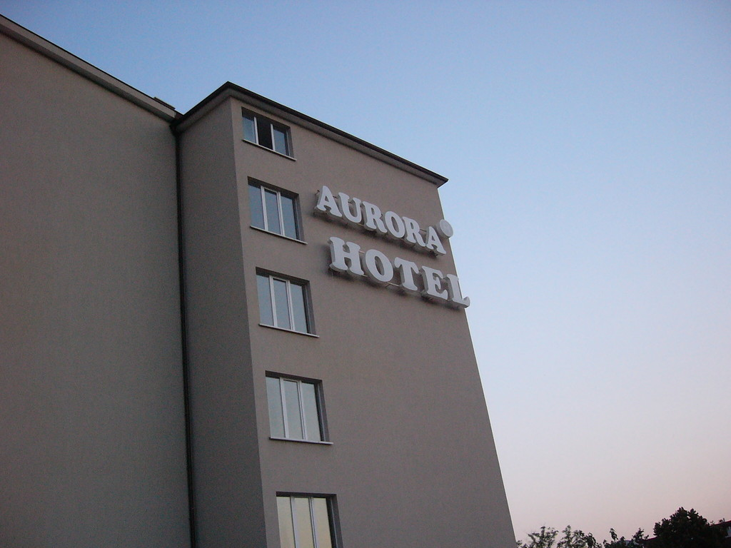 Вид гостиницы сбоку.