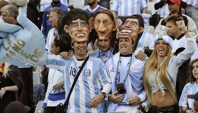 Аргентинцы перед матчем