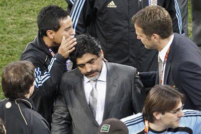Безутешный Диего Марадона
