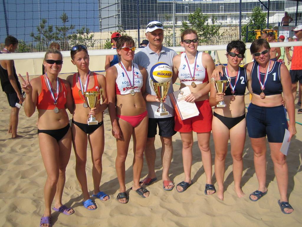 Женские призеры