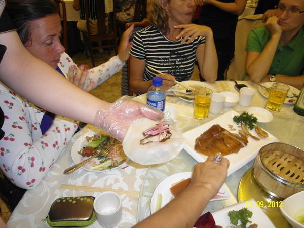 В китайском ресторане