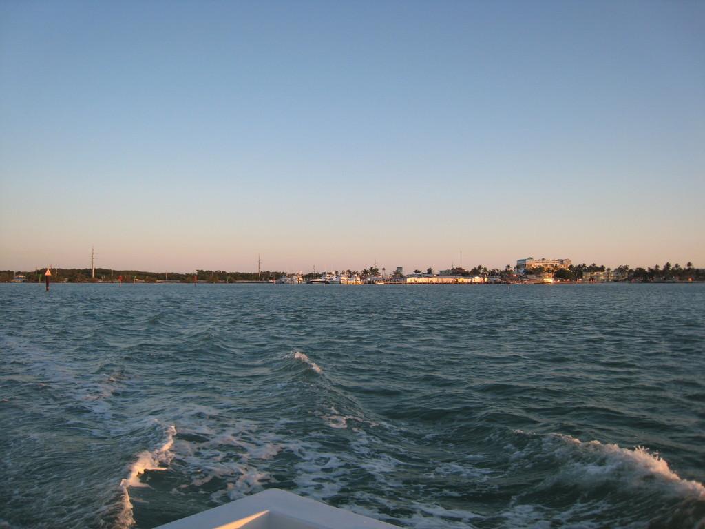 Отплываем в открытое море